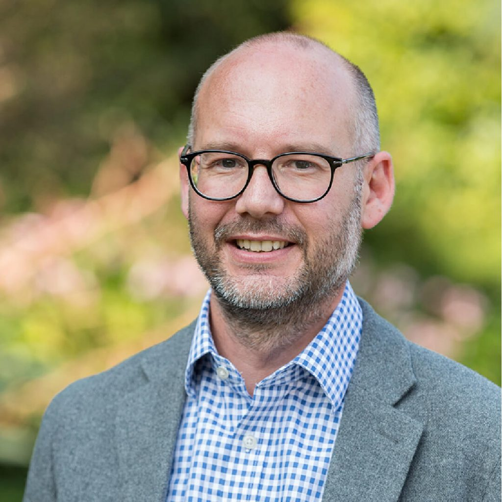 Portrait of Dr Justin Morris, Chief Executive of Bristol Zoological Society
