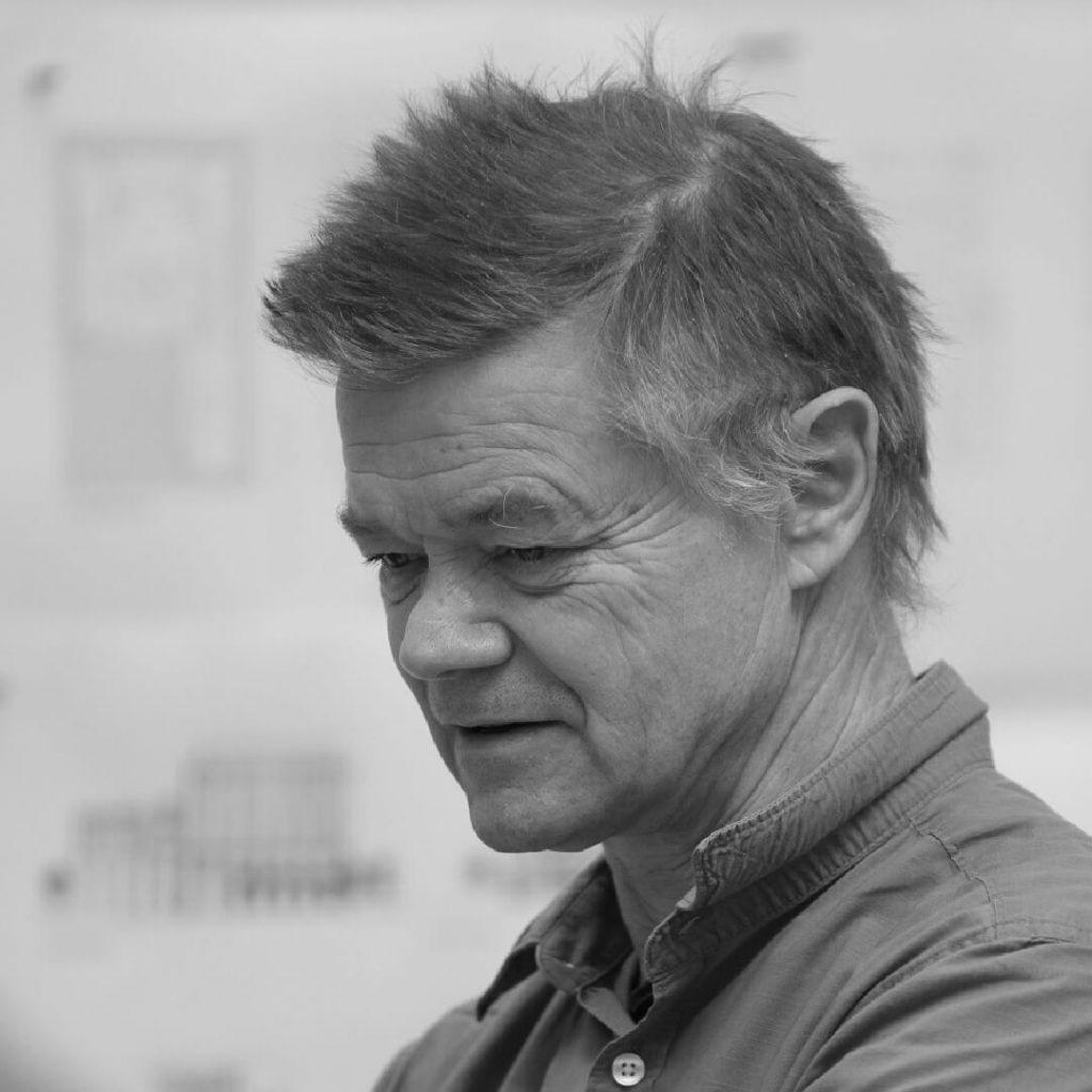Portrait of Peter Clegg, Feilden Clegg Bradley Studios