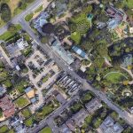West Car Park aerial view