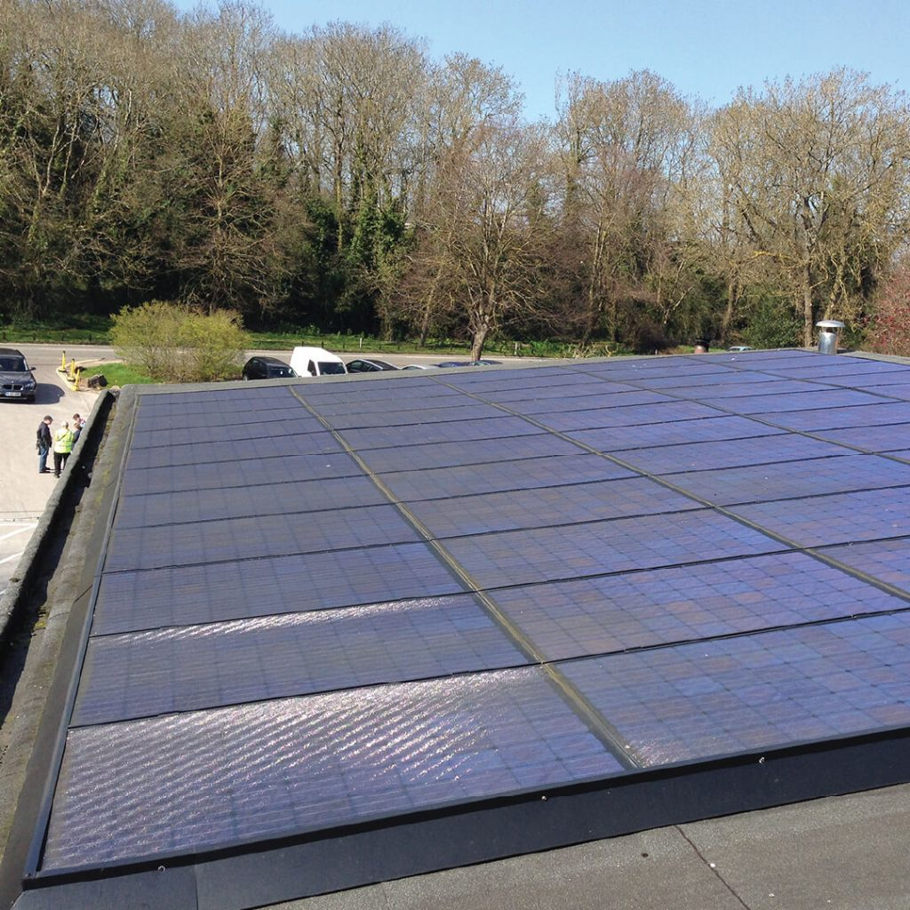 Solar panels at Bristol Zoo Gardens
